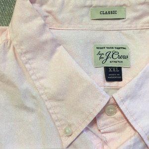 J Crew Stretch Secret Wash Shirt, Brand New, XXL